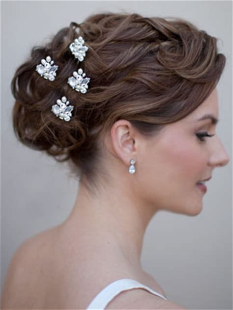 Vintage Wedding Hairstyles For Curly Hair by Curly Wedding Hairstyles Bridal Wedding Hair