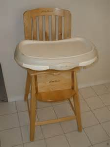 eddie bauer newport collection wood high chair review