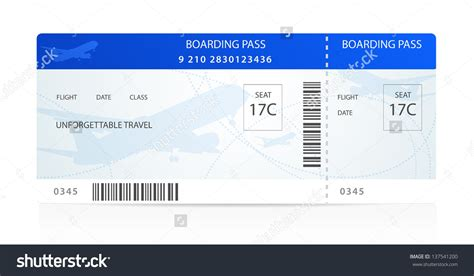airplane boarding pass template airplane ticket template exle mughals