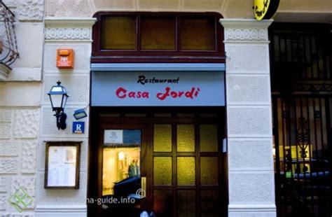 restaurante casa jordi barcelona casa jordi barcelona guide