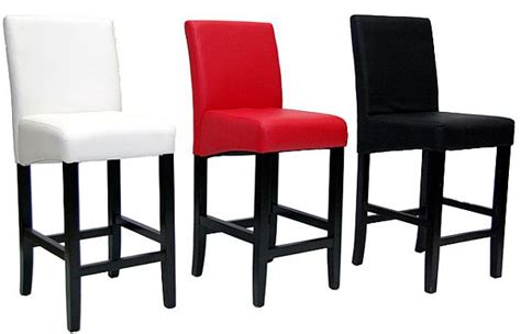Turn Chair Into Bar Stool by Turn Plain Leather Barstool Into Unique Projects