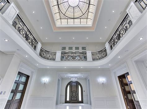 luxury stairs gallery french inspired mansion stairway