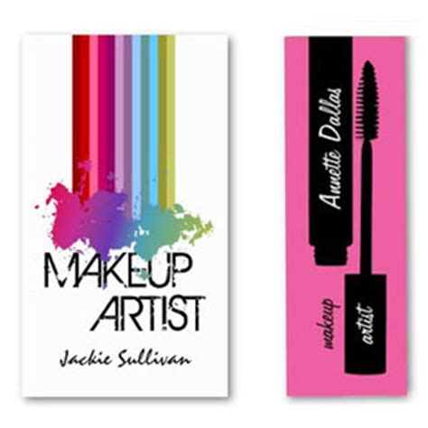 hair and makeup business cards business cards for makeup artists hair and makeup artist