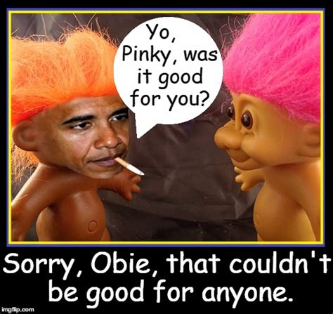 Good For You Meme - pinky obie smurf imgflip