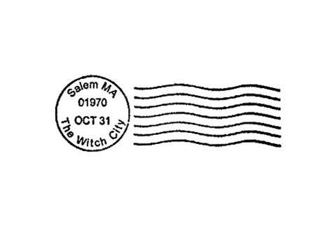 Postmark Rubber St Postal Cancellation