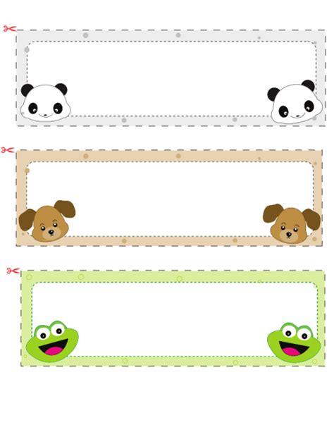 children s name card templates name cards for 1 kidspressmagazine