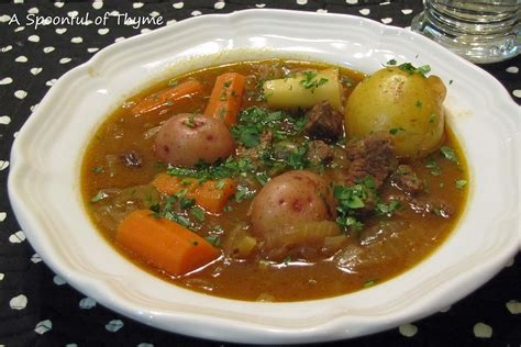 stew ideas a spoonful of thyme medieval stew with stout and other