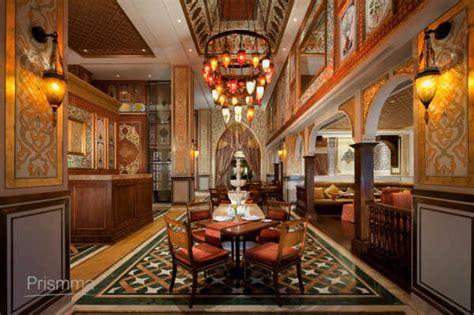 Chandelier Restaurant Dubai Dubai Luxury Hotel Jumeirah Zabeel Saray Interior Design Travel Heritage Magazine