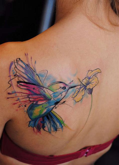 41 large and small hummingbird tattoos