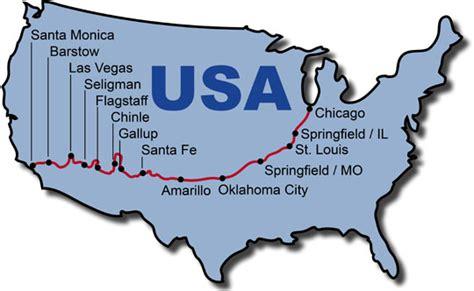 motorcycle road maps usa route 66 usa amerika selbstfahrer motorradtour
