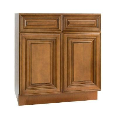 Kitchen Cabinet Doors Home Depot Lakewood Cabinets 33x34 5x24 In All Wood Base Sink