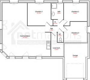 plan en l plain pied 3 chambres tlcharger