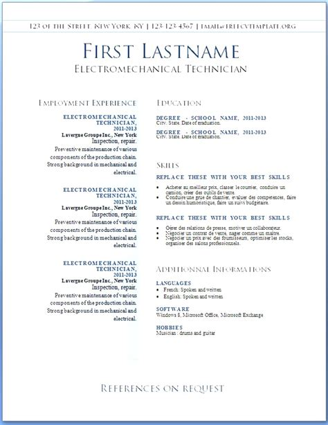 best resume templates word create best resume template word word