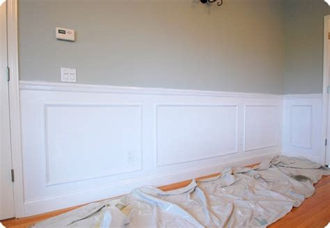 difference between room and board how to create a beautiful diy wainscoted wall