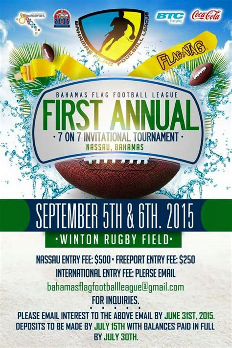 football tournament flyer template top 10 international flag football tournaments flagspin