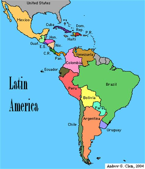 map of latin america latin america is made up of mexico latin america from the conquistadors to the castros