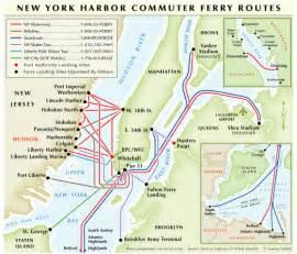 Map Of New York Waterways by Lakota Nyc