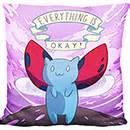 catbug pillow pet catbug peas pillow an adorable fuzzy plush to