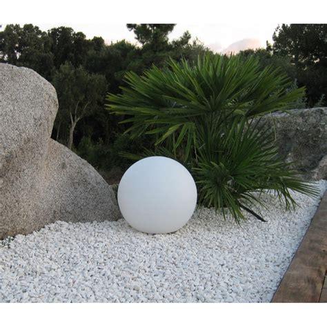 boule lumineuse jardin boule lumineuse blanche ext 233 rieure jardin et saisons