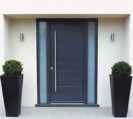 Modern Front Doors Uk Spacefold 187 Timber Entrance Doors