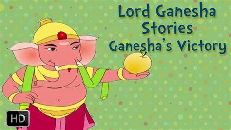 lord ganesha stories ganeshas victory short stories