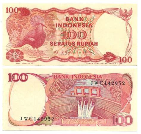 Uang Kuno Kertas Rp 100 Pinisi Th 1992 uang kuno 50 variasi rp 100 1984
