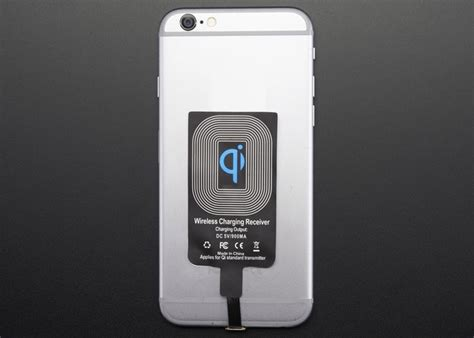 Qi Wireless Charging Lightning Receiver Iphone 55sse5c6 Charger adafruit lightning connector iphone qi wireless charging