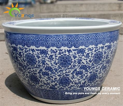 wholesale indoor  outdoor large chinese blue white