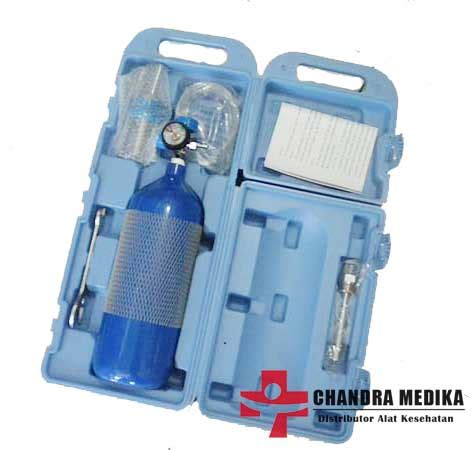Tabung Oksigen 2 Liter jual tabung oksigen medis ukuran 2 liter portable murah