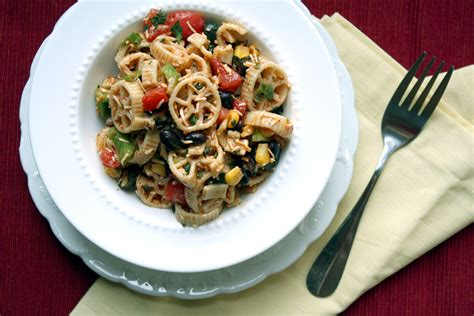 tex mex pasta salad veggie tex mex pasta salad