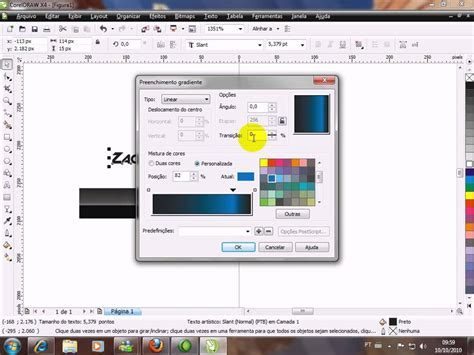 tutorial corel draw x4 banner tutorial como fazer um banner 180x40 no coreldraw youtube