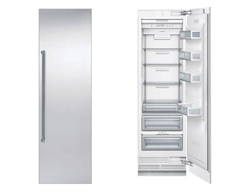 "Thermador T24IR800SP 24"" Built in Fully Flush Fresh Food"
