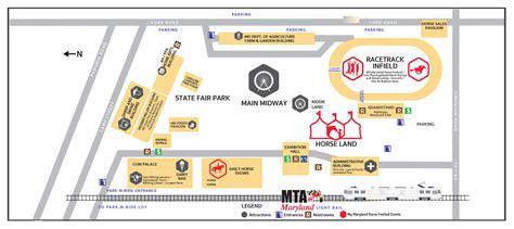 maryland fairgrounds map horseland at maryland state fair maryland