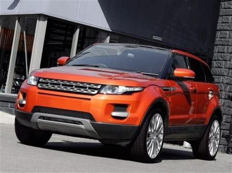 kahn design range rover evoque vesuvius edition