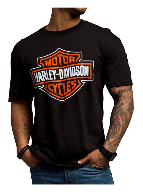 Harley Davidson Original T Shirt harley davidson s significant bar shield sleeve t shirt 5503 8842 ebay