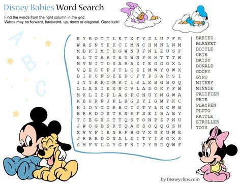 printable disney games printable disney word search games 2 disney s world of