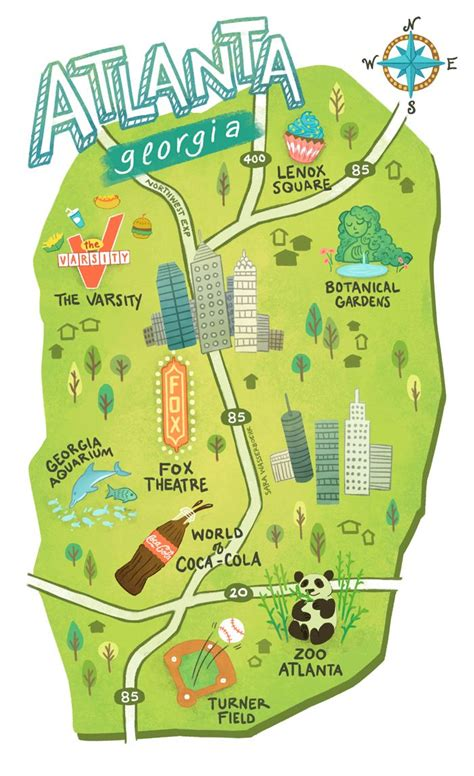 atlanta map usa the 25 best atlanta usa ideas on atlanta