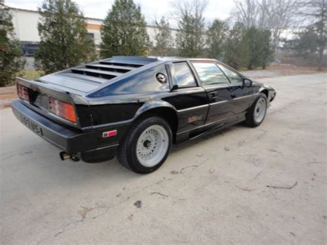 used 1986 lotus esprit esprit for sale in bucks pistonheads purchase used 1986 lotus esprit turbo hci in saint clair michigan united states