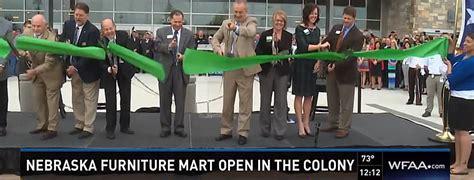 nebraska furniture mart holds grand opening the