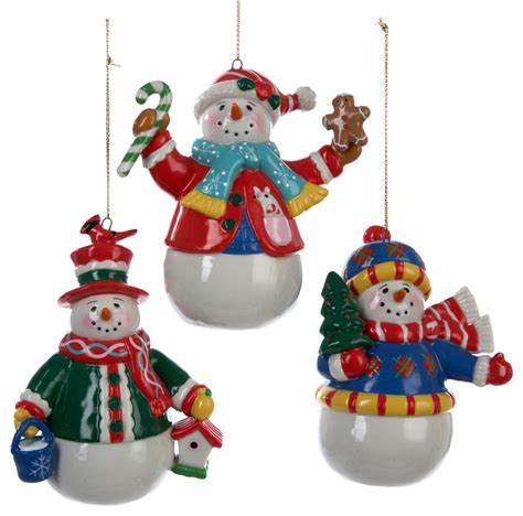 Area Rugs Calgary Sale by Christmas Snowman Ornaments Set Of 3 Traditional