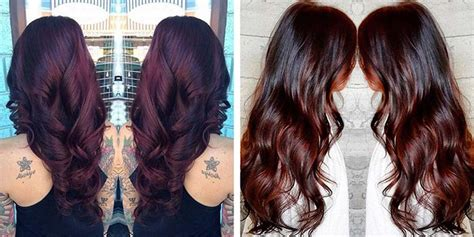 how to make chocolate cherry brown hair dye chocolate cherry hair color pictures formula with red