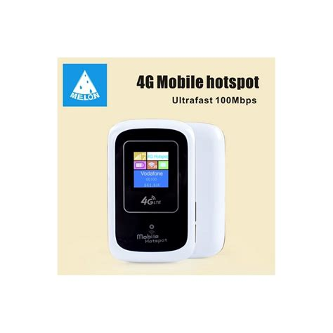 mobile as wifi hotspot mobile hotspot 4g 3g lte melon lt10 wifi router unlocked