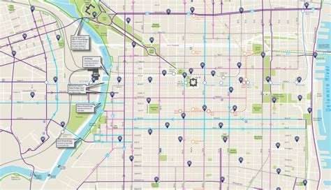 Bike Lane Map Chicago by Here S A Brand New Map Of All Of Philly S Bike Lanes