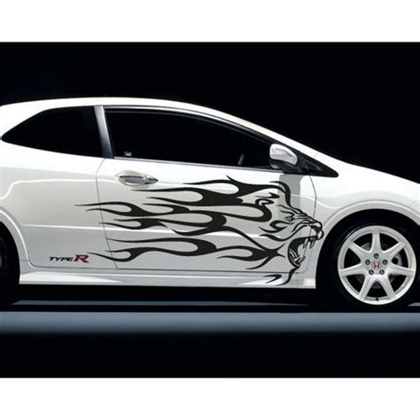 Lion Tuning Aufkleber by Tribal Lion Car Stickers Tuning Stickers Discount Deco Soon