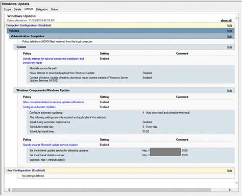 install windows 10 via wsus 0x800f081f when using wsus on domain windows 10 forums