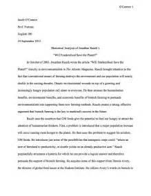 rhetorical analysis sample essay writing teacher tools