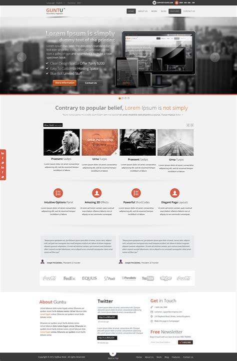 layout design html modern website layout designs for inspiration 22 exles