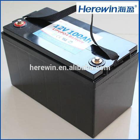 100 Ah Lifepo4 12 Volt Cycle Battery - 100ah 12 volt lifepo4 battery 12v 100ah cycle