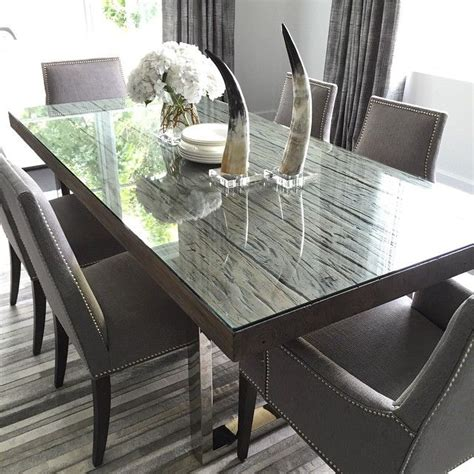 Kid Friendly Dining Chairs Our Modern Henley Dining Table With These Tailored Oliver Dining Chairs In Durango Slate