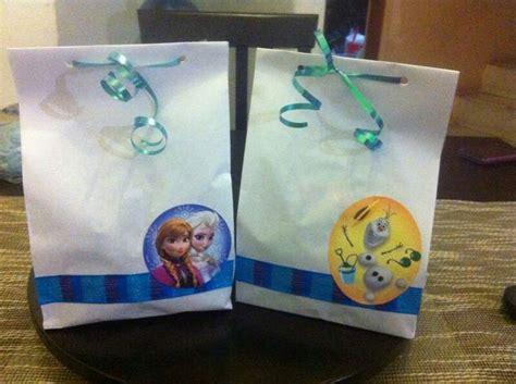 bolsitas de frozen bolsitas con dulces frozen fiestas infantiles
